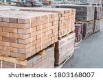 Pallets And Packages Of Freshly ...