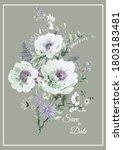 very beautiful hand drawn...   Shutterstock . vector #1803183481