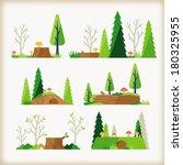 woodland    Shutterstock .eps vector #180325955