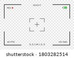 camera viewfinder with a focus. ... | Shutterstock .eps vector #1803282514
