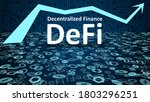 defi   decentralized finance...   Shutterstock .eps vector #1803296251