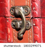 Old Trinket Box Lock. Old Lock...