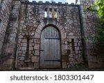 Heavy Wooden Castle Single Door ...