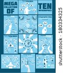 mega collection of ten... | Shutterstock .eps vector #180334325