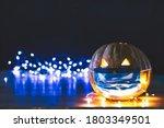 Halloween Pumpkin Illuminated...