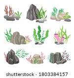 Angulated And Smooth Sea Stones ...