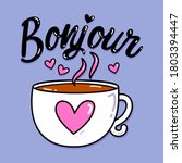 good morning text  lettering... | Shutterstock .eps vector #1803394447
