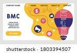 vector website design template .... | Shutterstock .eps vector #1803394507