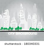 abstract background. city theme.... | Shutterstock .eps vector #180340331