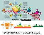 business infographic elements... | Shutterstock .eps vector #1803453121