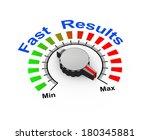 3d illustration of knob set at... | Shutterstock . vector #180345881