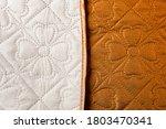 Home Textile. Beige Brown...