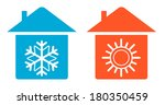 set air conditioning icon  ... | Shutterstock .eps vector #180350459