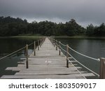 Long Wooden Bridge To The End...