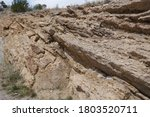 Rough Jagged Rocky Outcrop In...