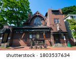 Small photo of SALEM, MA, USA - JUL. 19, 2019: Witch Dungeon Museum at 16 Lynde Street in historic city center of Salem, Massachusetts MA, USA.