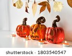 Halloween Composition With...