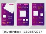 collection of social media... | Shutterstock .eps vector #1803572737