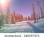 Snowmobile Trail In Labrador...