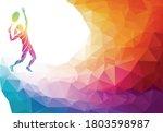 creative silhouette of female... | Shutterstock .eps vector #1803598987