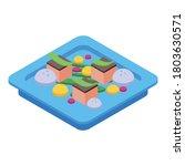 food molecular cuisine icon....   Shutterstock .eps vector #1803630571