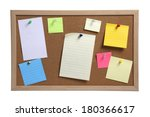 Cork Board With Several...