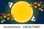 happy chuseok  korean harvest...   Shutterstock .eps vector #1803674887
