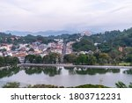 Kandy City From The Kandy View...