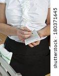 waitress | Shutterstock . vector #180371645