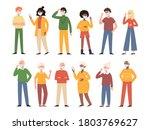 vector illustration with...   Shutterstock .eps vector #1803769627