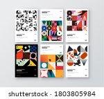 post modern collection design... | Shutterstock .eps vector #1803805984