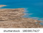 View On Dead Sea Mud Beach From ...