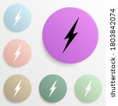lightning badge color set....