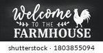 welcome to the farmhouse cozy... | Shutterstock .eps vector #1803855094