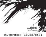 vector illustration of brush... | Shutterstock .eps vector #1803878671