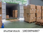 Loading Shipment Carton Boxes...