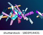 multicolored patterned... | Shutterstock .eps vector #1803914431
