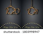 2021 happy new year background... | Shutterstock .eps vector #1803998947
