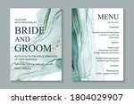 modern abstract luxury wedding... | Shutterstock .eps vector #1804029907
