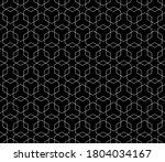 vector seamless geometric... | Shutterstock .eps vector #1804034167