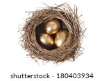 Bird\'s Nest With Three Golden...