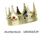 kings crown cutout  isolated on ... | Shutterstock . vector #180406529