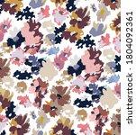 seamless flowers pattern ... | Shutterstock . vector #1804092361