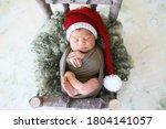 Sleeper Newborn Baby In A...