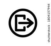 logout  arrows  icon outline...