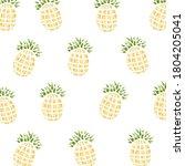 pretty fresh fruit leaf... | Shutterstock . vector #1804205041