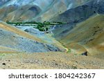 Beautiful Valley Of Hilly Area...