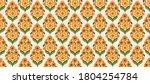 70's retro seamless pattern...   Shutterstock .eps vector #1804254784