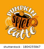 lettering label about autumn ... | Shutterstock .eps vector #1804255867
