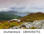 Elevated View Of Loch Carron...